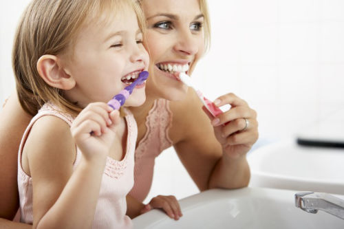 Parostatus Kinderprophylaxe-Konzept 3 - 5 Jahre